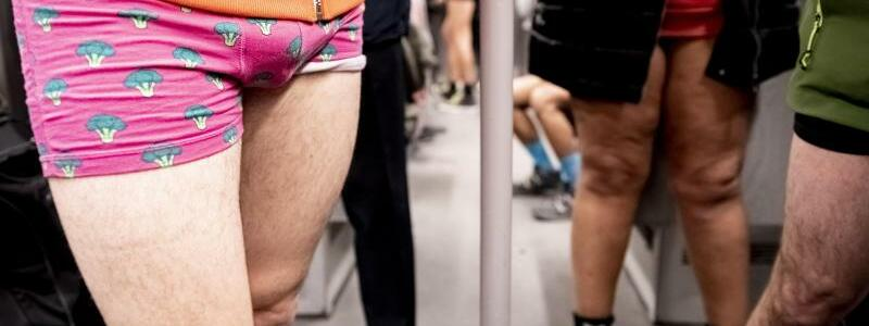 No Pants Subway Ride - Foto: Christoph Soeder
