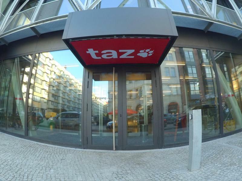 «taz»-Gebäude - Foto: Paul Zinken