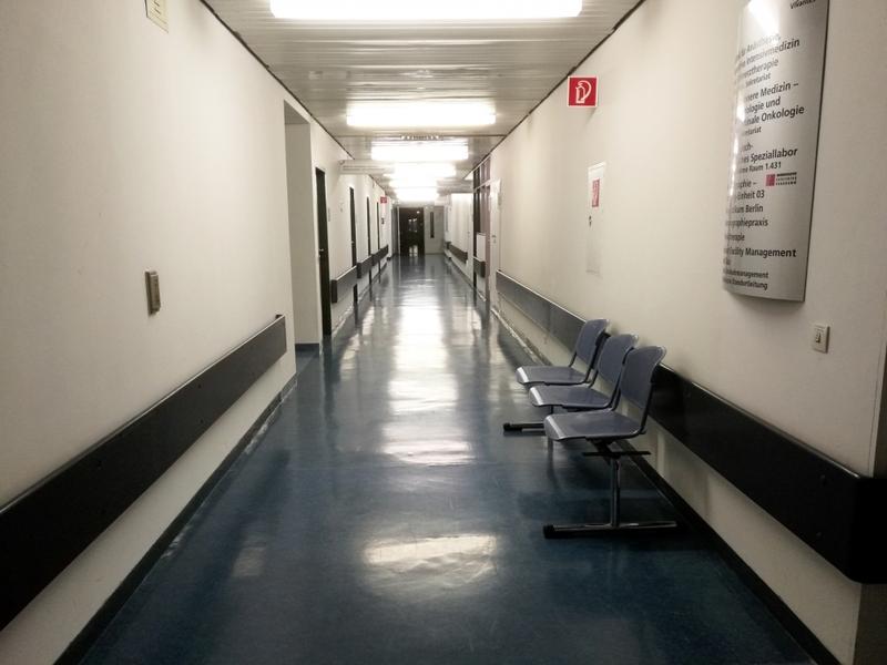 Krankenhausflur - Foto: über dts Nachrichtenagentur