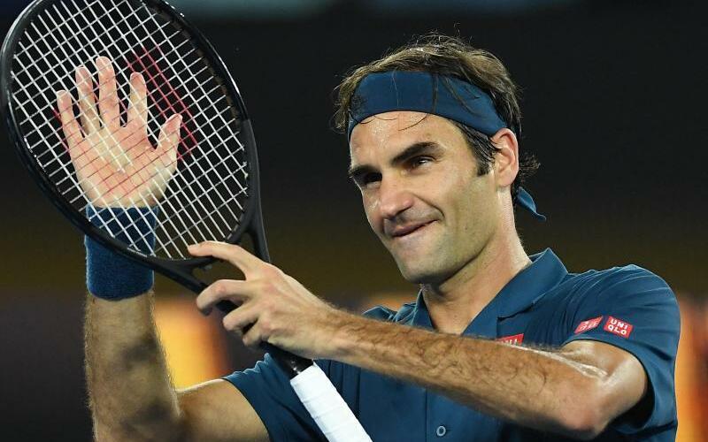 Roger Federer - Foto: Lukas Coch/AAP/