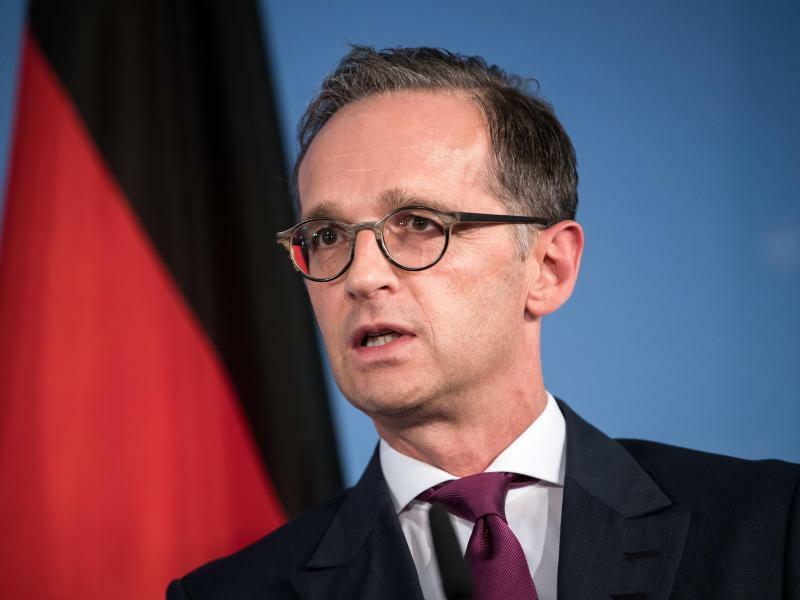 Außenminister Maas - Foto: Bernd von Jutrczenka