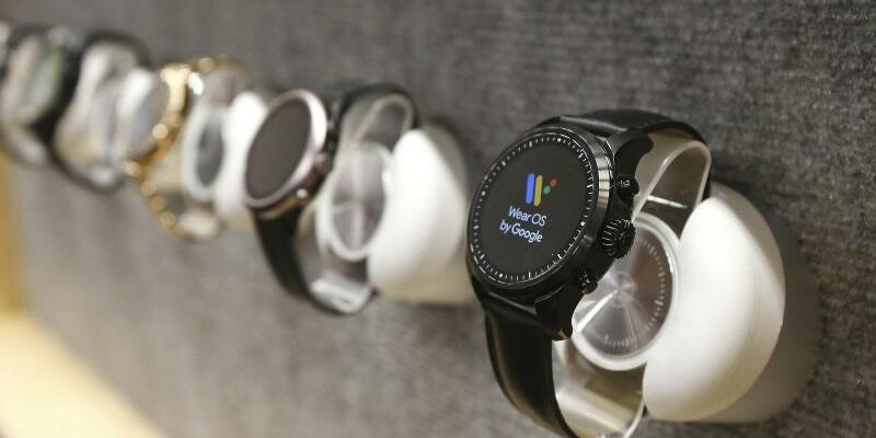 Smartwatch von Google - Foto: Ross D. Franklin/AP