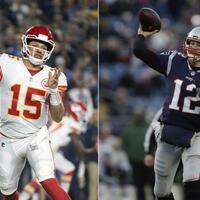 Mahomes und Brady - Foto: Uncredited/AP