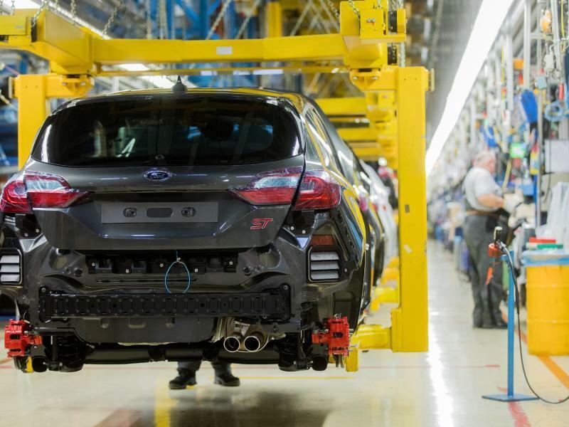 Ford-Produktion - Foto: Rolf Vennenbernd