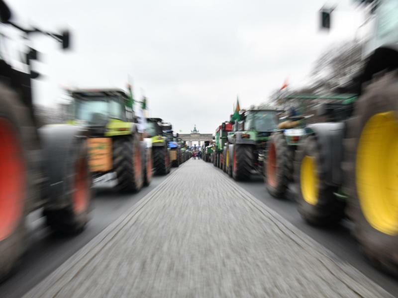 Demonstration für Agrarwende - Foto: Paul Zinken