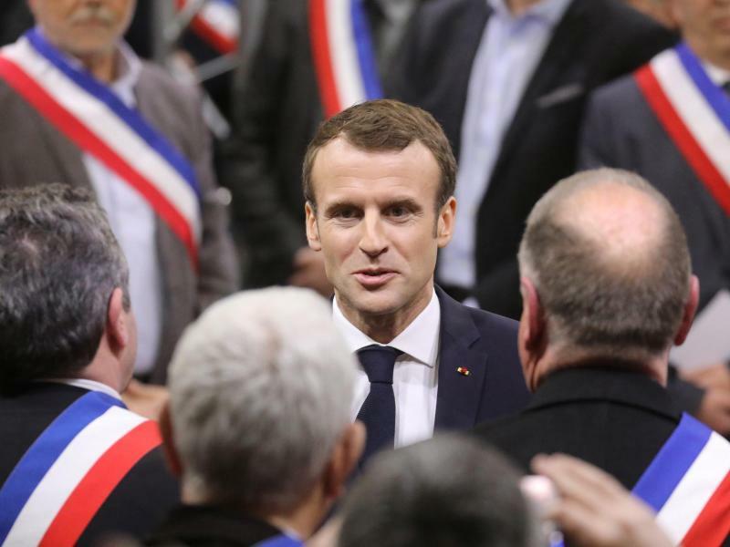Macron - Foto: Ludovic Marin