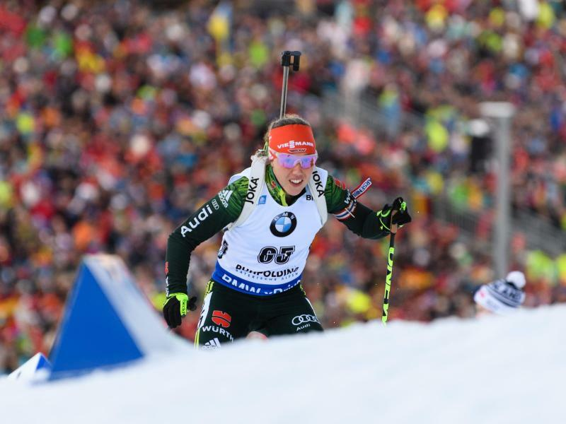 Biathlon-Staffel - Foto: Matthias Balk