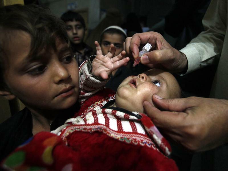 Polio-Impfung in Pakistan - Foto: Muhammad Sajjad/AP