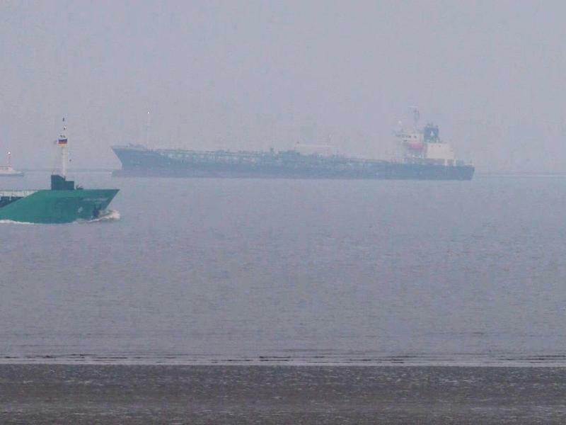 Tanker auf Grund - Foto: Tnn/TeleNewsNetwork