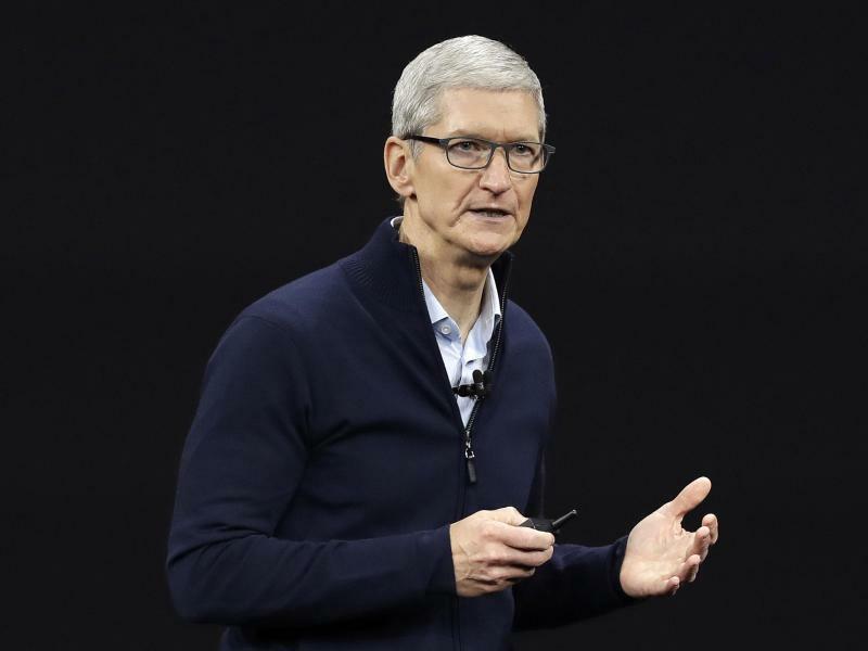 Apple - Tim Cook - Foto: Marcio Jose Sanchez/AP/dpa