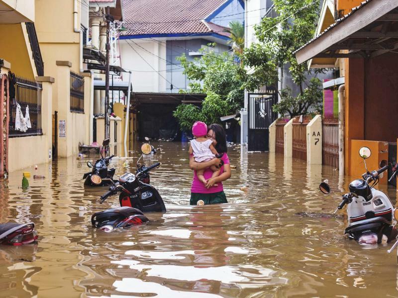 Nach dem Regen - Foto: Yusuf Wahil/AP