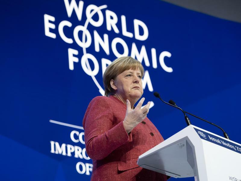 Weltwirtschaftsforum in Davos - Foto: Gian Ehrenzeller/KEYSTONE/dpa
