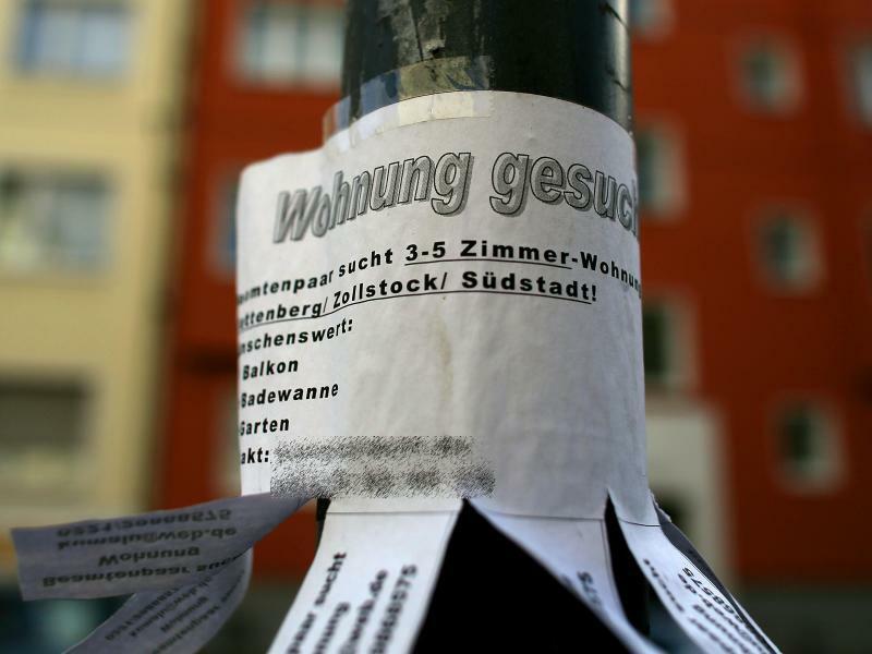 Wohnungsgesuch - Foto: Oliver Berg