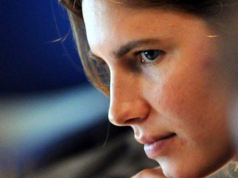 Amanda Knox - Foto: Pietro Crocchioni/EPA FILE