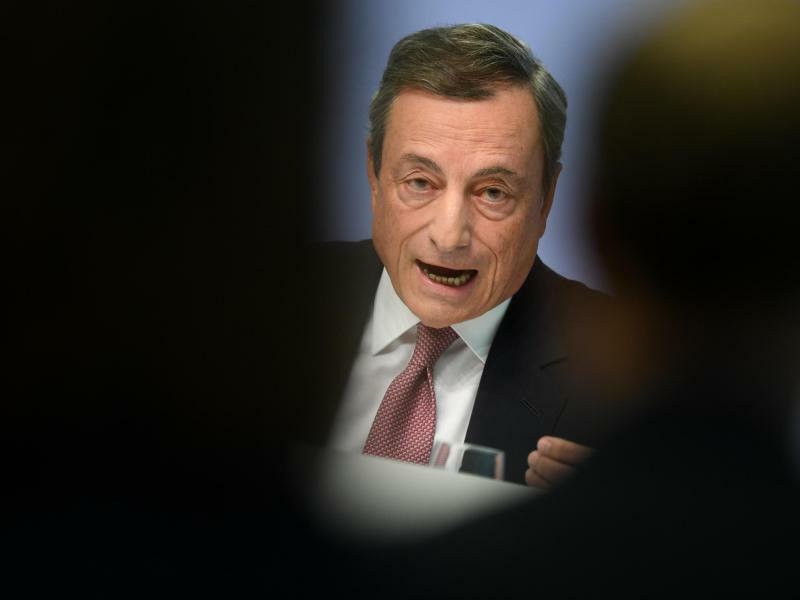 Mario Draghi - Foto: Arne Dedert
