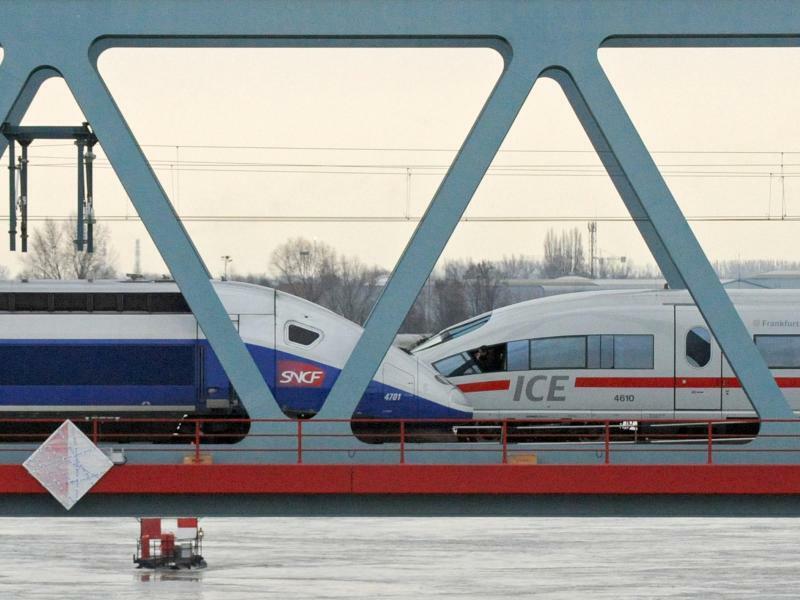 TGV und ICE - Foto: Marijan Murat