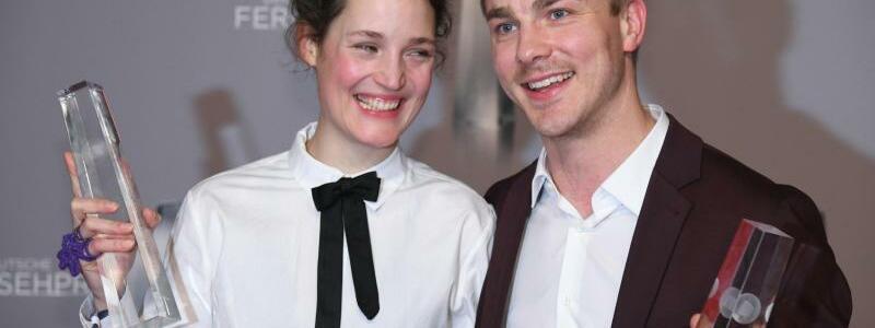 Vicky Krieps und Albrecht Schuch - Foto: Henning Kaiser