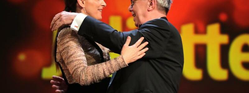69. Berlinale - Binoche + Kosslick - Foto: Kay Nietfeld