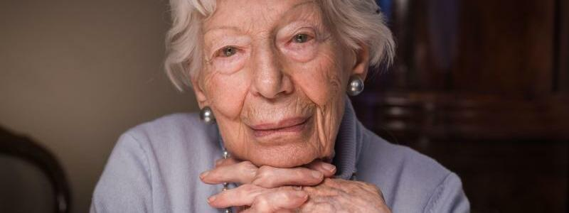 103-jährige Ingeborg Wolf - Foto: Frank Rumpenhorst