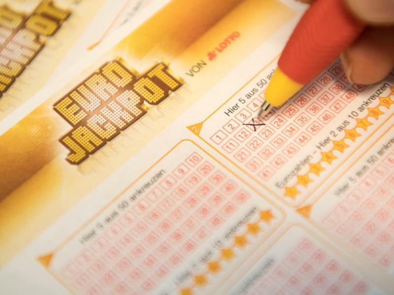 Eurojackpot - Foto: Fabian Sommer/Symbol