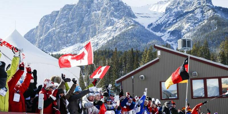 Biathlon-Weltcup in Canmore - Foto: Jeff Mcintosh/The Canadian Press/AP