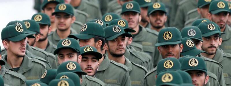 Revolutionsgarde - Foto: Vahid Salemi/AP