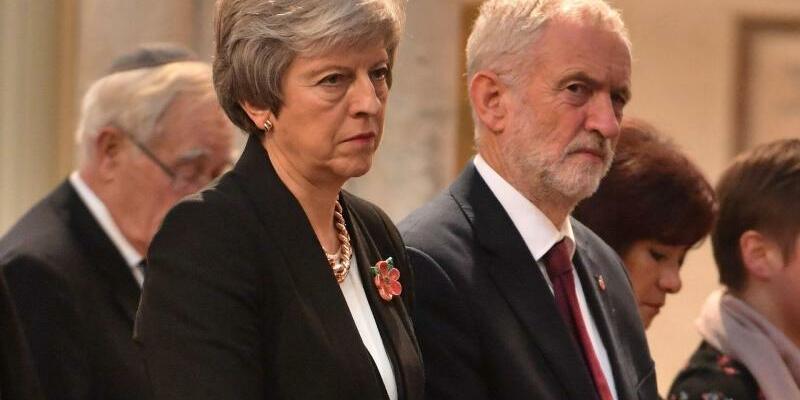 Theresa May und Jeremy Corbyn - Foto: John Stillwell/PA Wire/Archiv