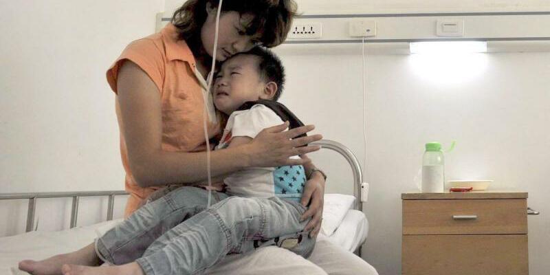 Kinderkrankenhaus in China - Foto: epa Zhou Chao/FEA