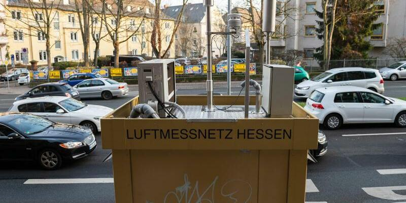 Luftmessstation - Foto: Silas Stein