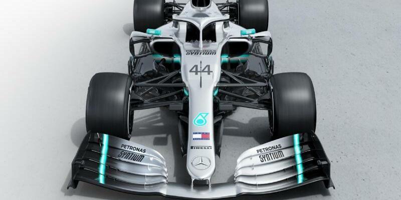 Der neue W10 - Foto: AMG Petronas Motorsport/MediaPortal Daimler AG