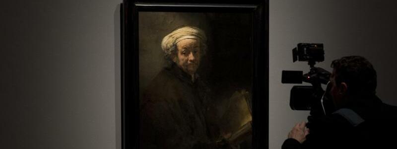 Rembrandt-Ausstellung - Foto: Peter Dejong/AP