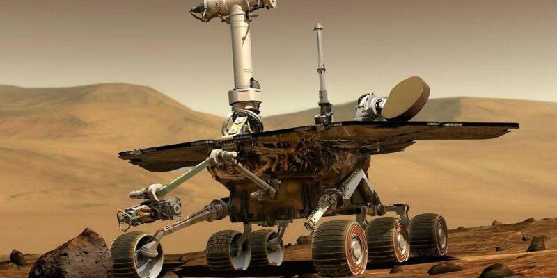 Mars-Rover «Opportunity» - Foto: Nasa/EPA