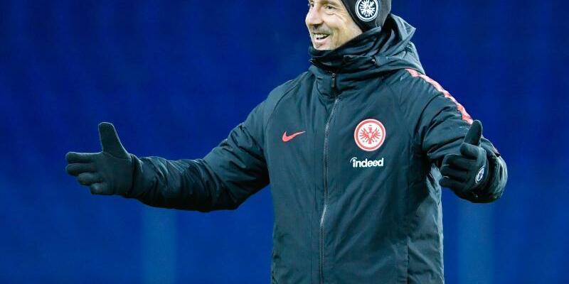 Eintracht-Coach - Foto: Uwe Anspach