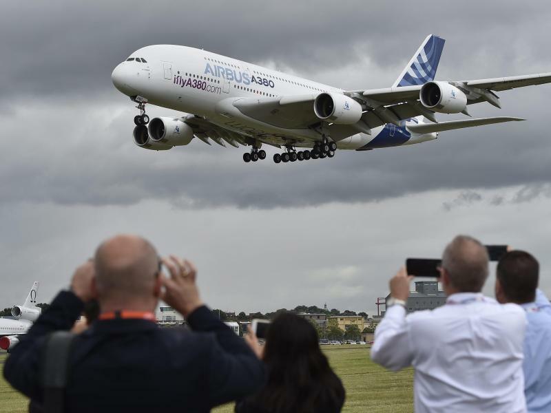 Airbus A380 - Foto: Hannah Mckay/EPA