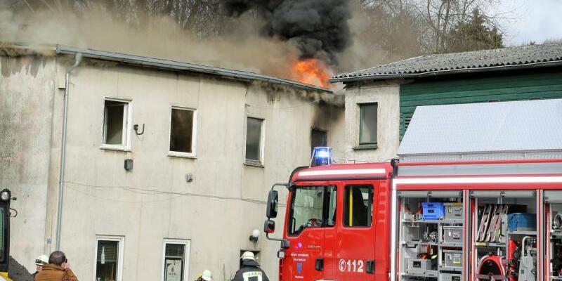 Feuer in Arnsberg - Foto: Wolfgang Becker