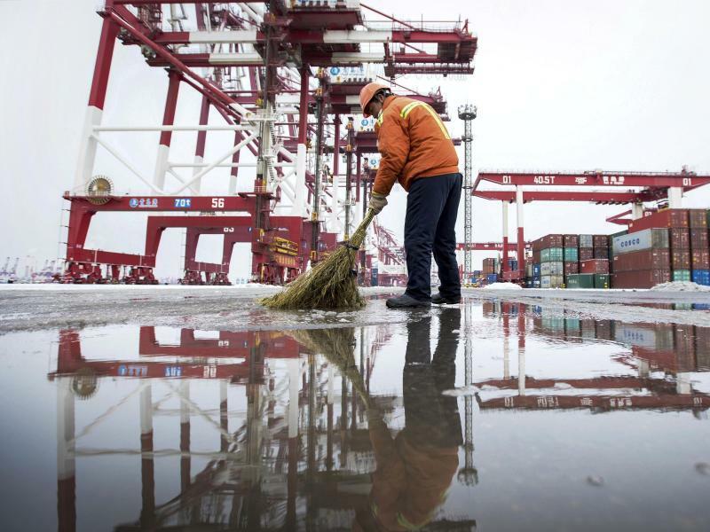 Handelsgespräche zwischen China und den USA - Foto: Uncredited/CHINATOPIX via AP/dpa