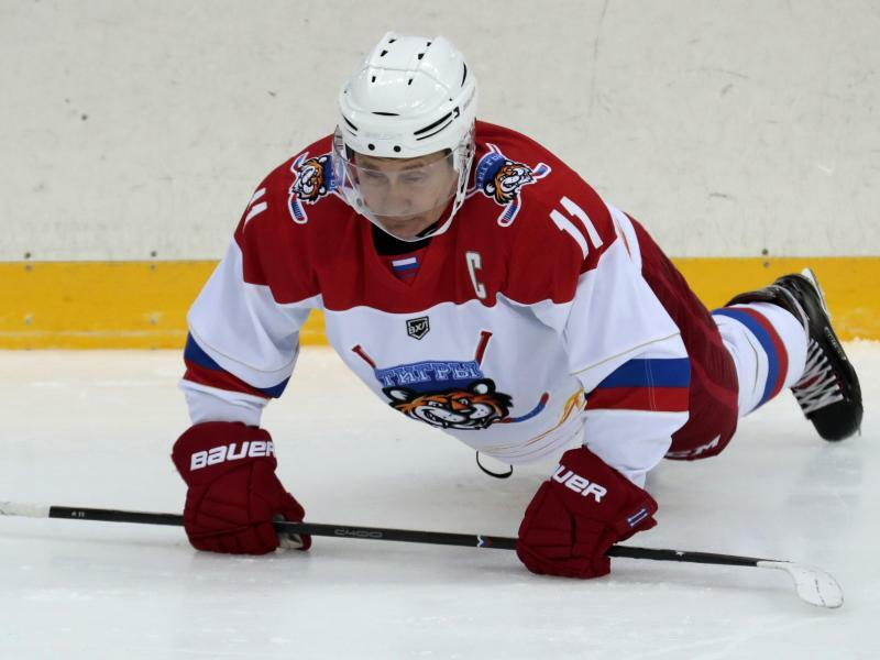 Sportlich - Foto: Sergei Chirikov/POOL EPA/AP