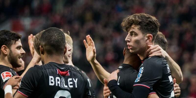 Bayer Leverkusen - Fortuna Düsseldorf - Foto: Rolf Vennenbernd