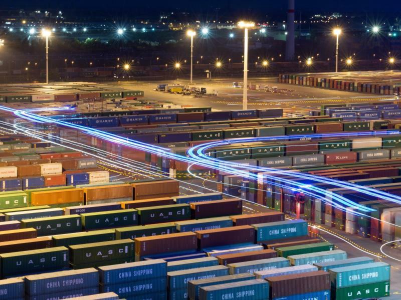 Hamburger Hafen - Foto: Daniel Reinhardt