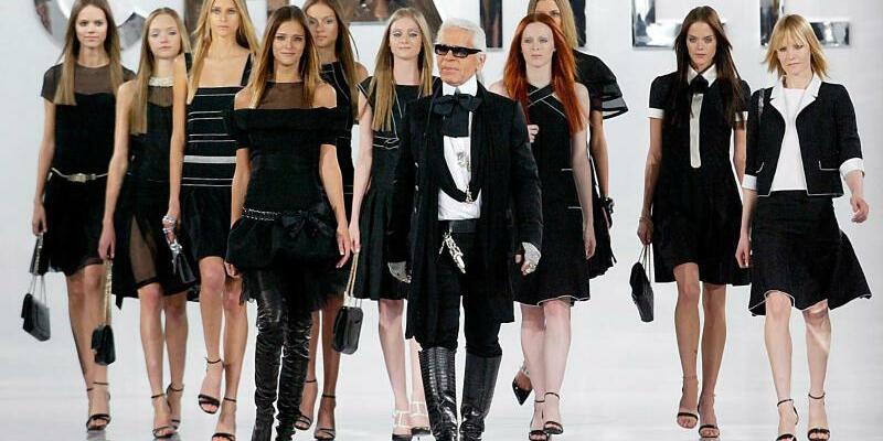 Karl Lagerfeld - Foto: Olivier Hoslet/epa