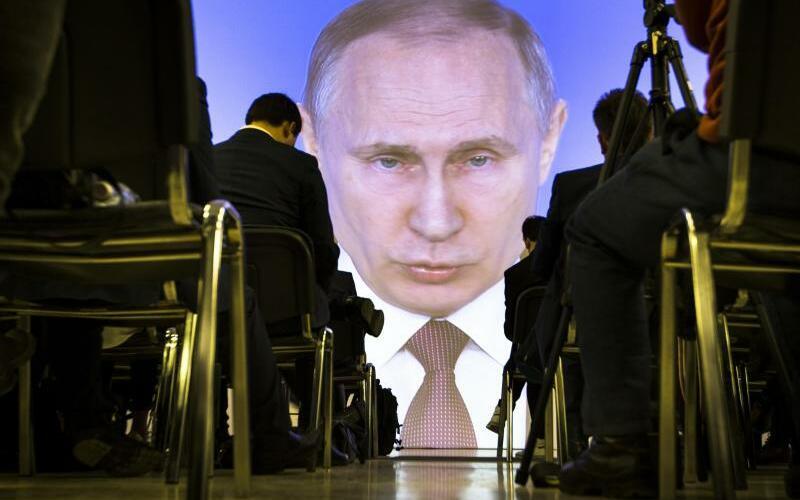 Putin - Foto: Alexander Zemlianichenko/AP