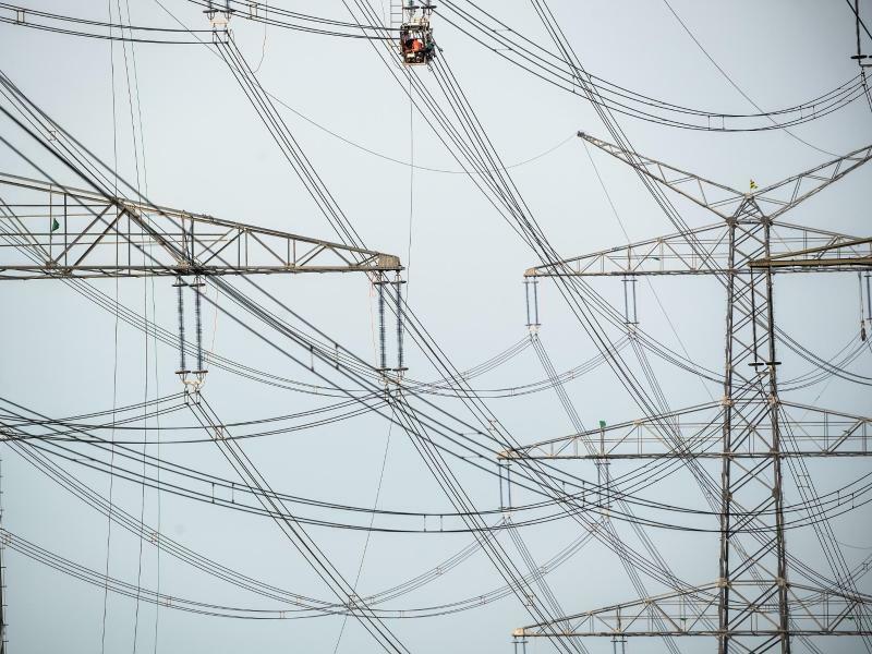 Strommasten - Foto: Federico Gambarini