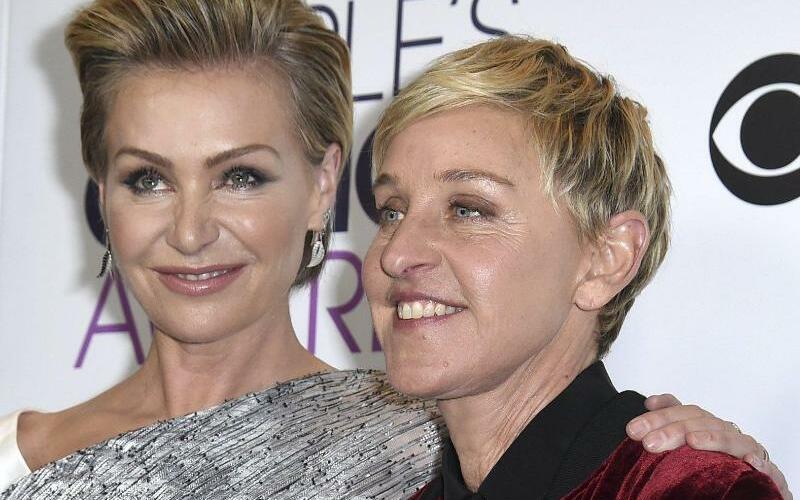 Ellen DeGeneres und Portia de Rossi - Foto: Jordan Strauss/Invision/AP
