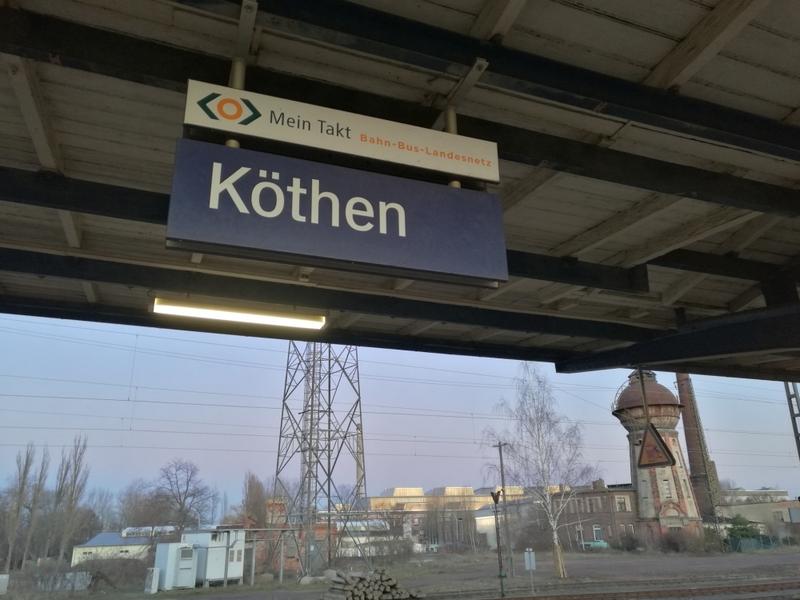 Bahnhof Köthen (Anhalt) - Foto: über dts Nachrichtenagentur