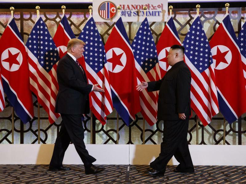 Trump trifft Kim - Foto: Evan Vucci