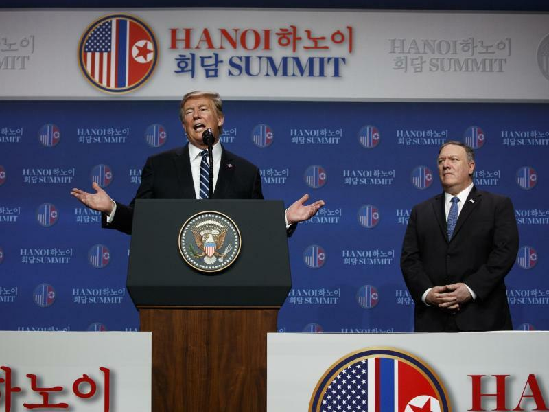 Trump und Pompeo - Foto: Evan Vucci/AP