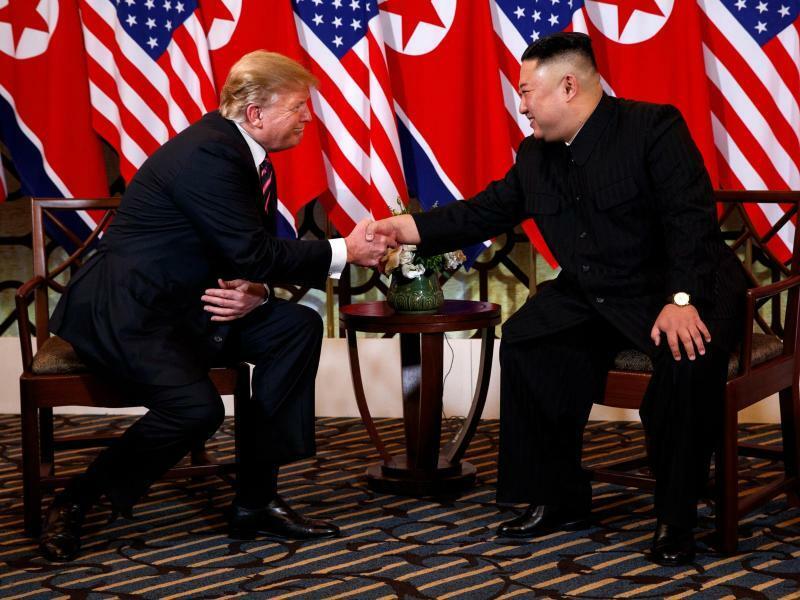 USA-Nordkorea-Gipfel - Foto: Evan Vucci/AP