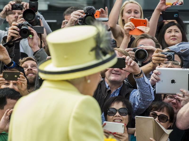 Die Queen in Berlin - Foto: John Macdougall