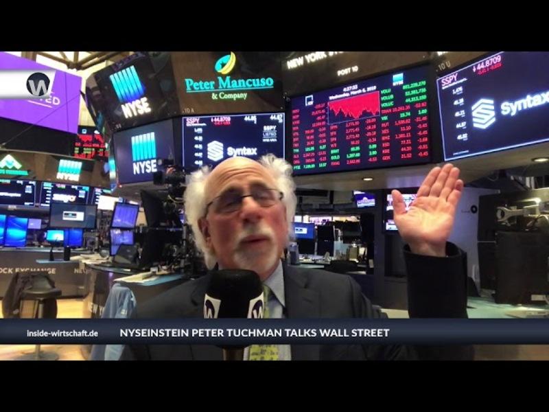 Die Gefahren für Anleger steigen. Stehen wir vor einem Kursrutsch? NYSEinstein Peter Tuchman klärt auf. - Foto: anlegerverlag.de