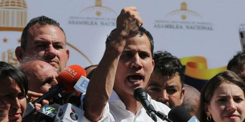 Juan Guaido - Foto: Fernando Llano/AP